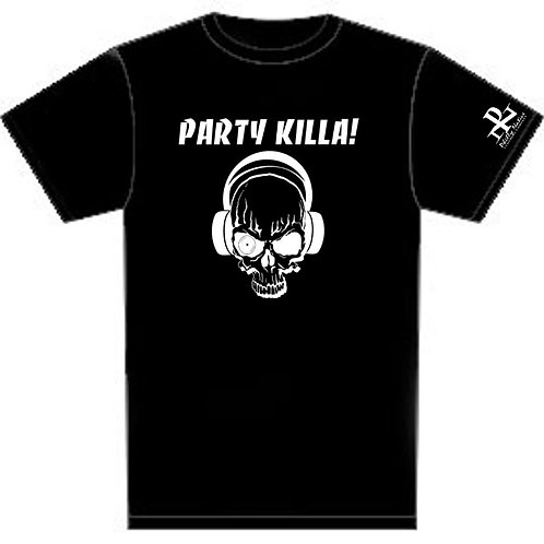 Personalized Party Killa Custom DJ Tee