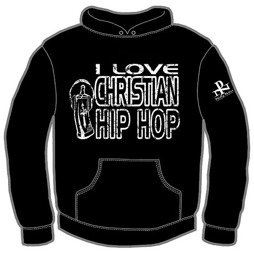 I LUV  Christian HIP HOP Hoody