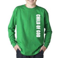 Boys Long Sleeve CHILD OF GOD Tee