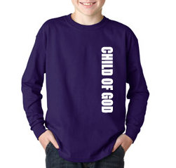 Girls Long Sleeve CHILD OF GOD Tee