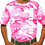 Thumbnail: Girls Pink Camo Tees