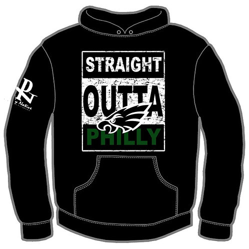 Straight Outta Philly Eagles Hoody