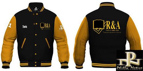 Custom WOOL/LEATHER Varsity Jacket