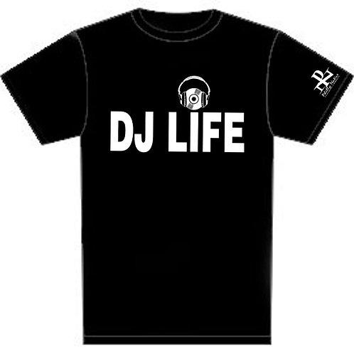 Personalized DJ LIFE Custom Short Sleeve DJ Tee