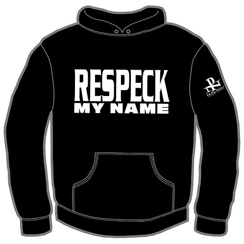 Personalized RESPECK MY NAME DJ Hoody