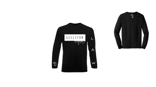 Black Drippy LongSleeve