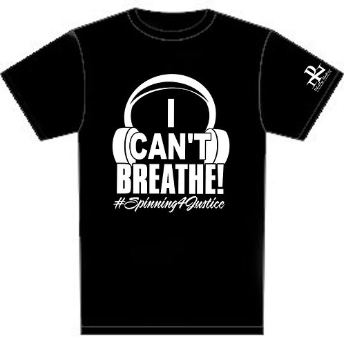 Personalized I Can't Breathe Custom DJ Tee