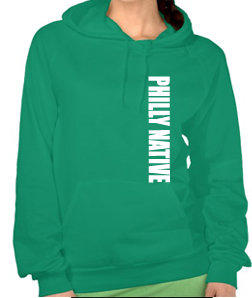 Ladies PHILLY NATIVE Hoody