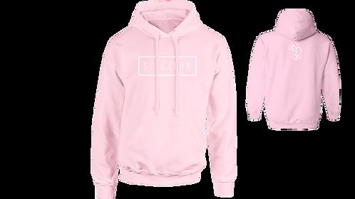 Pink Simple Hoodie