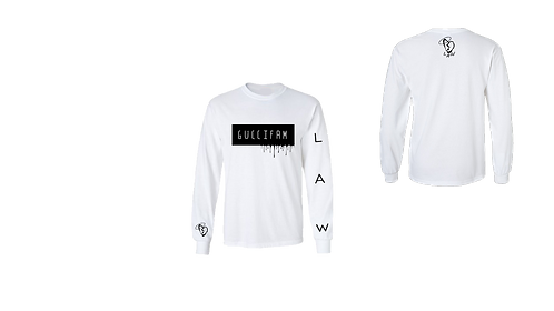 White Drippy LongSleeve