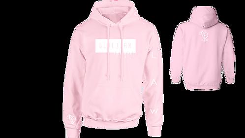 Pink Drippy Hoodie