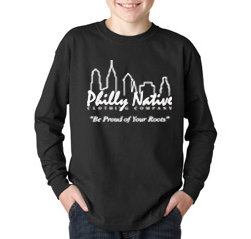 Boys Long Sleeve Skyline Tee