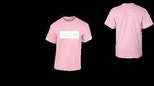 Pink Drippy Tee