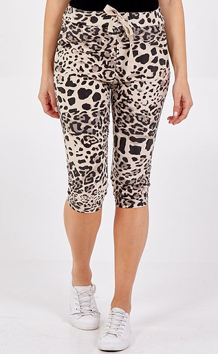 Magic Snow Leopard Shorts