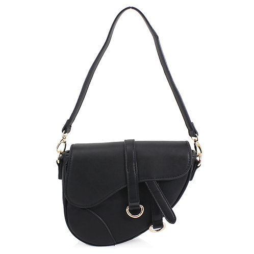 Asymmetrical Bag Black