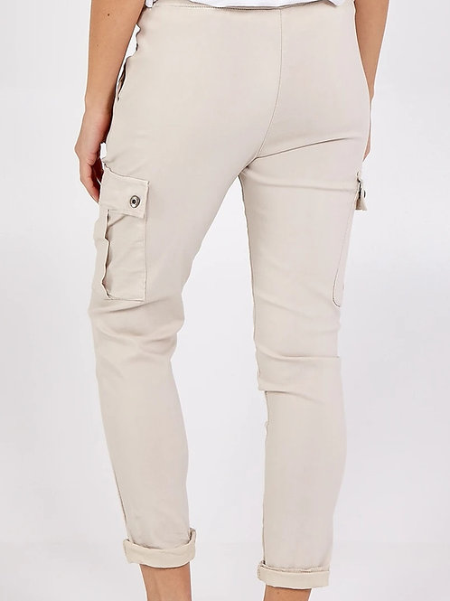 Stone Cargo Pants