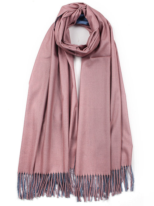 Large Two Tone Scarf