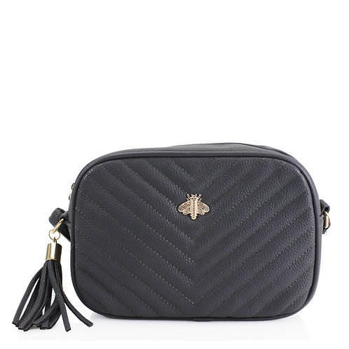 Black Camera Bee Bag