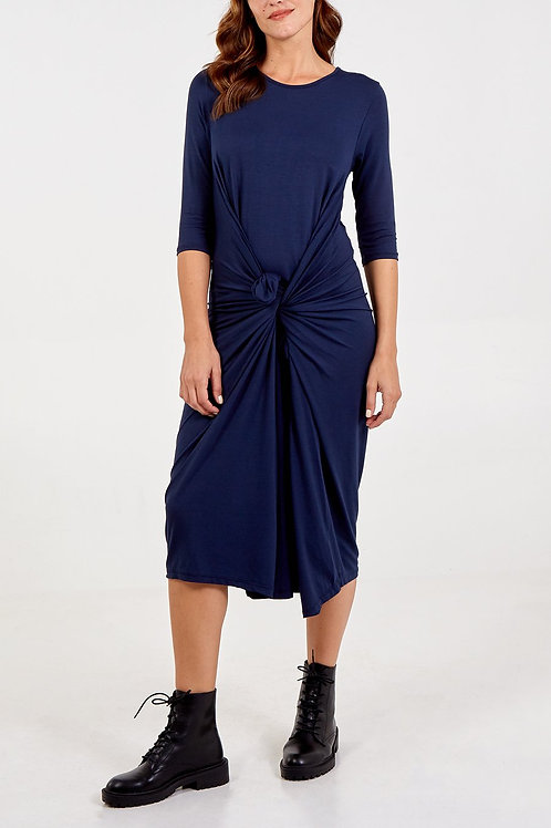 Navy Parachute Dress