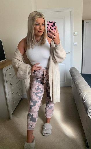 Pink Mix Camo Magic Pants