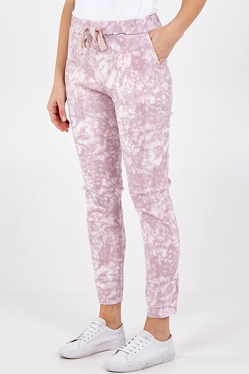 Pink Marble Magic Pants