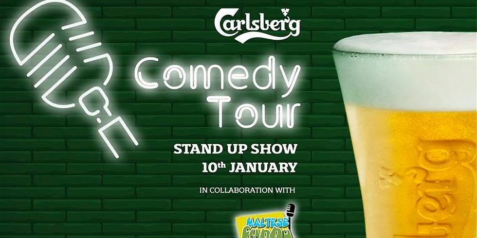 Carlsberg Comedy Tour in association with Maltese Funny Business