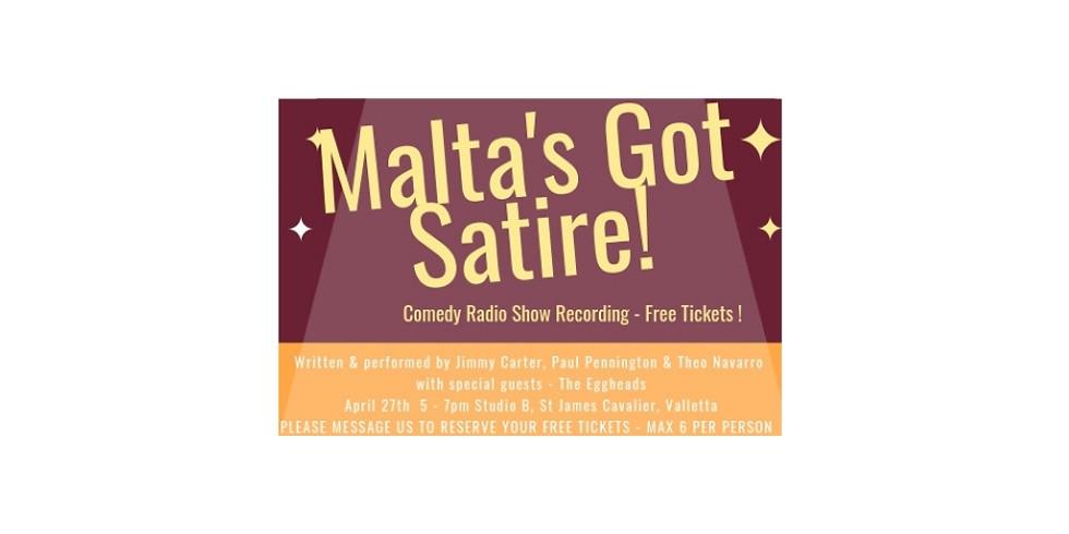Malta's Got Satire - radio show