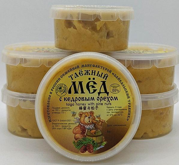 Таёжный мёд с кедровым орехом