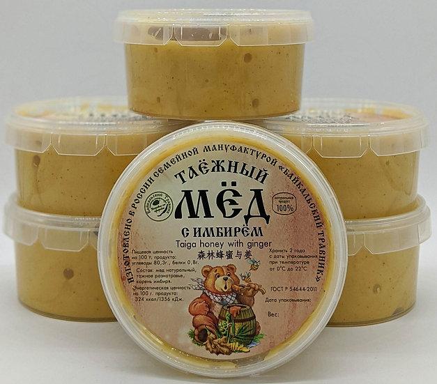 Таёжный мёд с имбирём