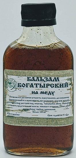 Бальзам «богатырский» на меду