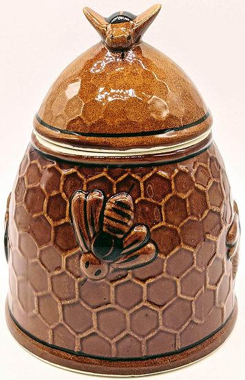 Бочонок под мёд из керамики