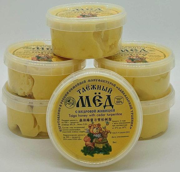 Таёжный мёд с кедровой живицей