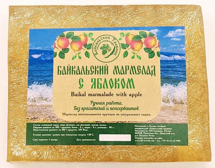 Байкальский мармелад с яблоком (пластовой)