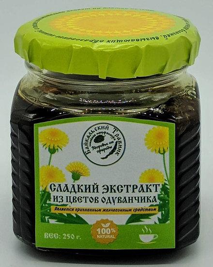 Сладкий экстракт из корней и цветов одуванчика