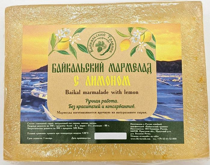 Байкальский мармелад с лимоном (пластовой)