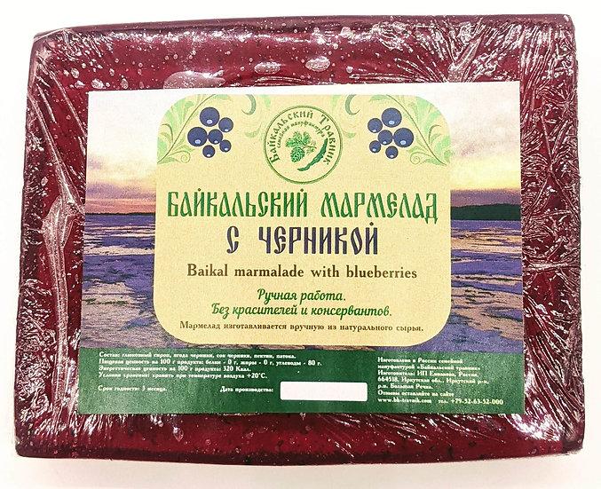 Байкальский мармелад с черникой
