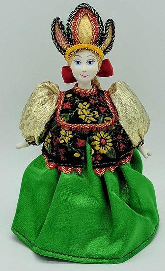 """Кукла сувенирная """"Хозяйка медной горы"""""""