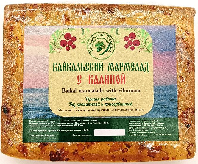 Байкальский мармелад с калиной (пластовой)