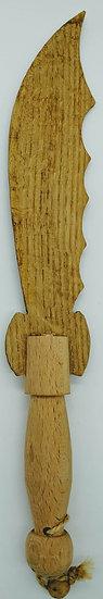 Пиратский нож деревянный