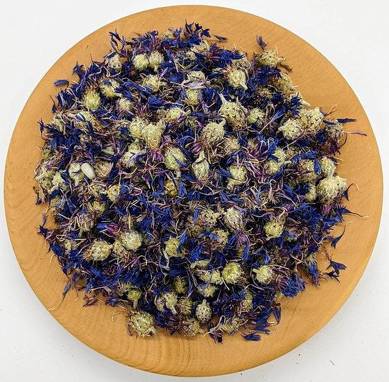 Цвет василька синего