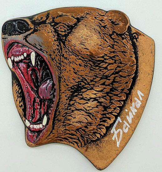 """Магнит керамический """"Медведь"""""""