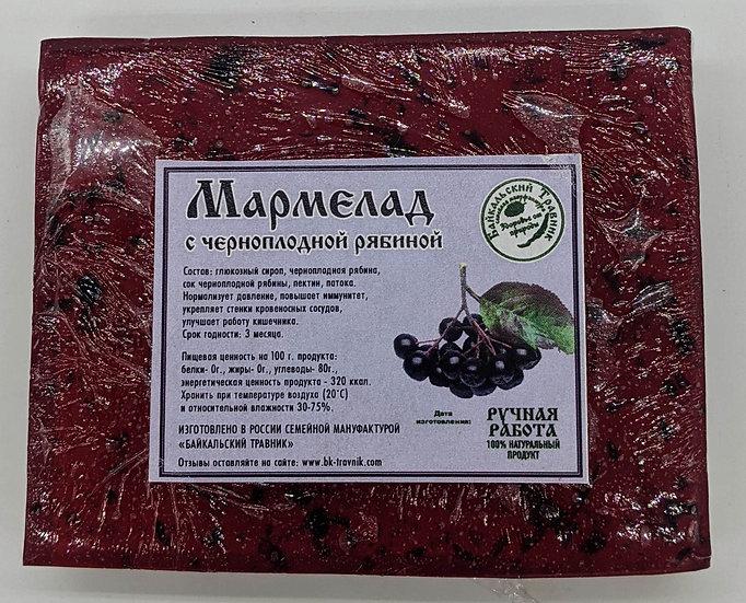 Байкальский мармелад с черноплодной рябиной