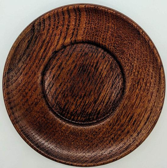 Блюдце деревянное