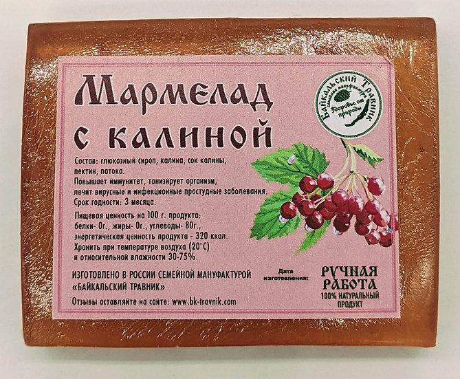 Байкальский мармелад с калиной