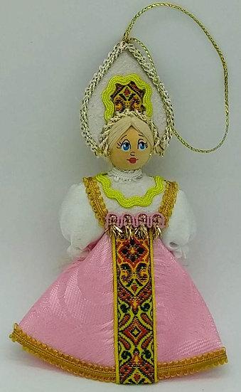 Кукла - подвеска сувенирная