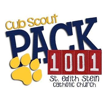 Cub Scouts Pack 1001 St. Edith Stein Catholic Church