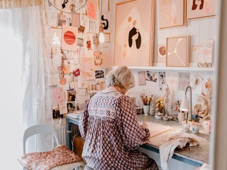 Portret creatief ondernemer
