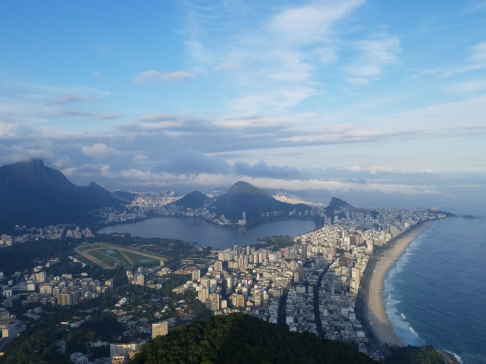 The view from the top of the Dois Irmãos (two brothers), which are the peaks you can see from Ipanema Beach sticking out in the distance, offer great views of the city from a different angle than from the other high points of the city.