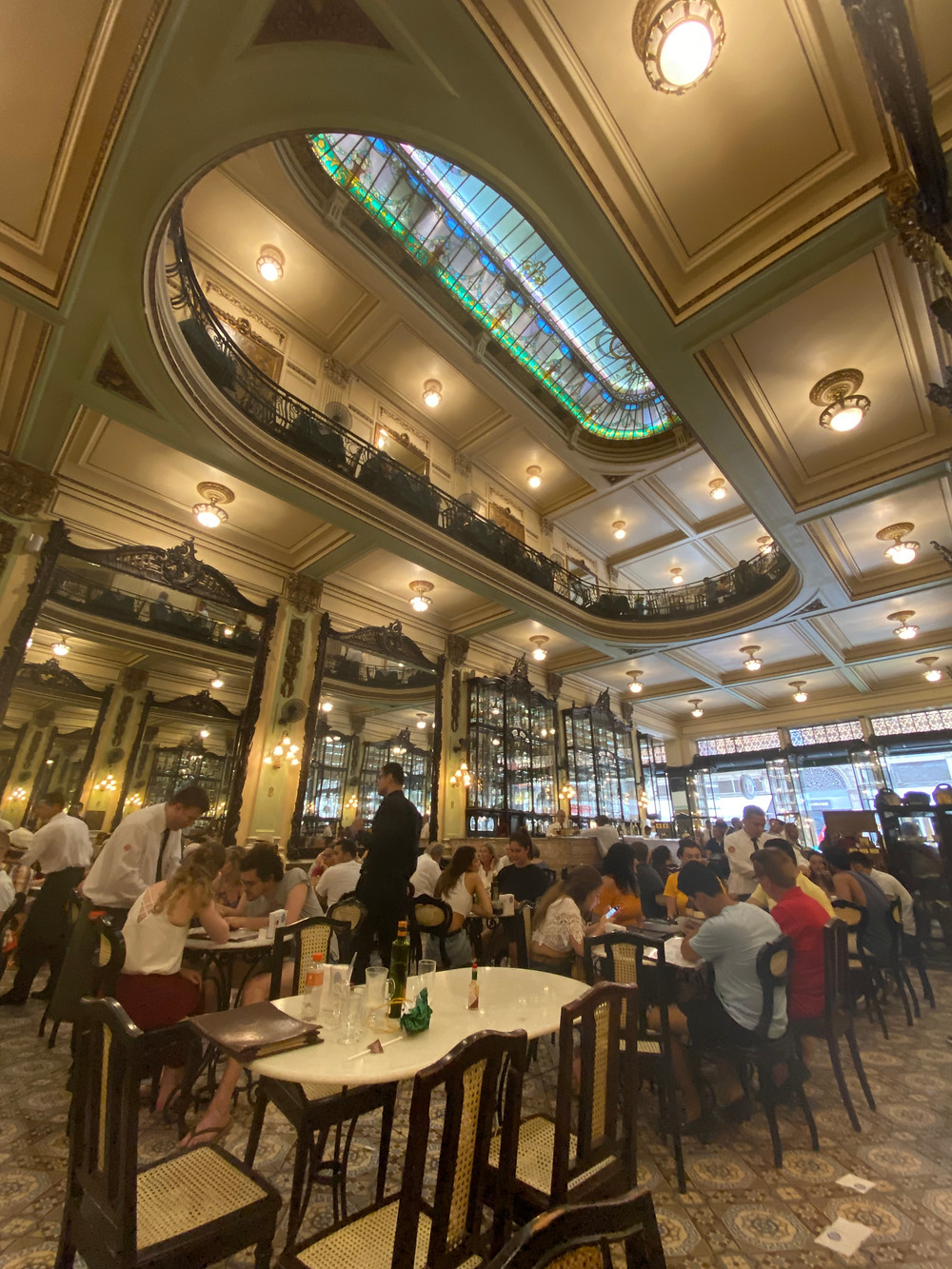 Confeitaria Colombo has several locations in Rio, but the Centro one is a must-visit and experience.