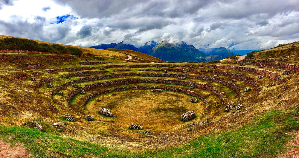 The Moray agricultural terraces are a feast for the eyes.